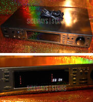 TECHNICS SH-GS91 DSP digital sound processor mic EQ karaoke pitch shift BROKEN