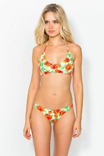 Pistol Panties Namelee Orange Floral Bikini Size 12  rrp £149.00   SA078 BB 04