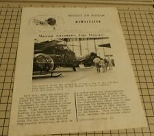 BRADLEY AIR MUSEUM NEWSLETTER VOL. 17 # 3 FALL 1977 CAHA, INC.