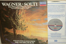 WAGNER: RING(orchestral excerpts)*SOLTI*DECCA DIGITAL *NO UK PRESSINGS *NM