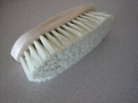 Horse Dandy Brush Polypropylene and Plastic Backed. Brand New