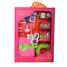 Our Generation : Accessory for an 18-Inch Doll : Luggage and Travel Set