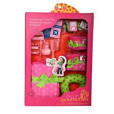 Notre génération: accessoire pour un 18-Inch Doll: bagages et Travel Set