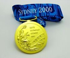 Sydney 2000 Olympic Gold Medal with Ribbon 1:1 Full Size