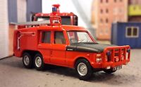 Range Rover Airport Airfield Rescue Fire Engine Model RAF TACR2 1:76 72 Airfix