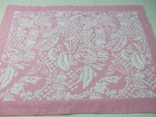 One Pink White Thick Cotton Standard Pillow Sham Cover Swell by Cynthia Rowley