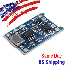 Micro USB Li-Ion Battery Charger Module TP4056 5V 1A Protection 18650 - US SHIP