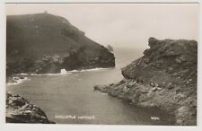 Cornwall postcard - Boscastle Harbour - RP (A216)