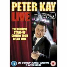 Peter Kay Live - The Tour That Didn't Tour Tour 5050582834680 DVD Region 2