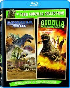 Godzilla: Final Wars / Godzilla: Tokyo S.O.S [New Blu-ray] UV/HD Digital Copy,