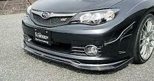 GENUINE VARIS FRONT SPOILER LIP CARBON FOR SUBARU GRB STI 09 MODEL