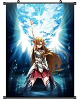 "Hot Japan Anime Sword Art Online Asuna Poster Wall Scroll Home Decor 8""×12"" F81"