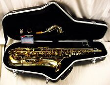 "KING SUPER 20 ""SILVERSONIC"" TENOR SAXOPHONE STERLING BELL & NECK FULL PEARLS WOW"