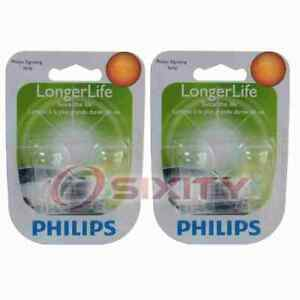 2 pc Philips Back Up Light Bulbs for Nissan 370Z Altima Altra EV Aprio fk