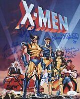 CAL DODD Cast X6 Signed X-MEN ANIMATED SERIES 8x10 Photo Autograph JSA COA