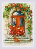 Counted Cross Stitch Kit RIOLIS - Italian door