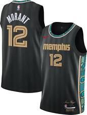 Memphis Grizzlies Ja Morant #12 Nike 2020-21 NBA Swingman Jersey City Edition