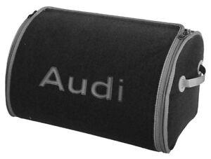 "🇩🇪 ""AUDI"" Design 🏅Trunk Cargo Organizer (L) 🏁 Boot Cargo Storage Bag ✅"