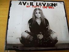 AVRIL LAVIGNE MY HAPPY ENDING CD SINGOLO MINT--- 4 TRACKS + 1 VIDEO