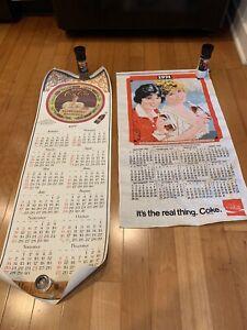 Vintage Coca Cola Calendar