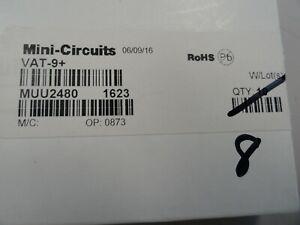 Lot of 8 Mini-Circuits VAT-9+ 9 dB Fixed Attenuator, DC - 6000 MHz, 50Ω