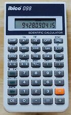 Vintage Ibico 098 Scientific & Statistical Calculator - Works