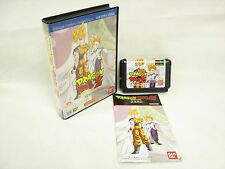 DRAGON BALL Z BUYU RETSUDEN Item Ref/bbc Mega Drive Sega Japan Game md