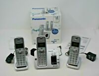 Panasonic KX-TGE463S Link2Cell Bluetooth Cordless Phone with 3 Handsets