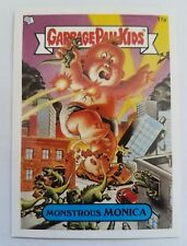 GARBAGE PAIL KIDS 17A MONSTROUS MONICA STICKER CARD WITH PUZZLE PIECE GPK-71