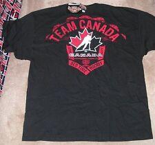NEW Team Canada Ice Hockey T Shirt Maple Leaf 2XL XXL Old Time Hockey NEW NWT