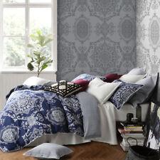Florence Broadhurst Medallion Indigo King Bed Size Duvet Doona Quilt Cover Set