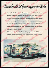 or. Farbreklame BMW 328 Superleggera Stromline Auto Motorsport Nürburg-Ring 1940