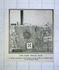 1917 Useful Incinerator At A British Camp On Salonika Front