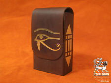 """Eye of the Horus"" leather bag for Tarot or any magical accessories"