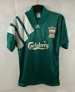 Liverpool Centenary Away Football Shirt 1992/93 Adults Medium Adidas B397