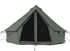 Regatta Canvas Bell Tent 5M Premium & Breathable 100% Cotton, Waterproof
