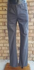 Paul Smith Jeans Men's Pants size 32 Brown Plaids Casual Cotton Trousers