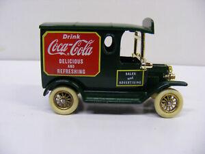 Lledo Days Gone DG 6-8 Ford T Model Coca Cola Drink Coca Cola  Green