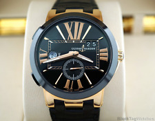 Ulysse Nardin Executive Dual Time 43 mm 750 Rose Gold Automatic 246-00/42