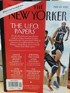 The New Yorker magazine 10th May 2021 The U.F.O. Papers, Could Scotland Secede?