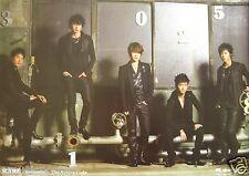 "TOHOSHINKI ""SECRET CODE"" TAIWAN PROMO POSTER - TVXQ, Korean K-Pop Boy Band"