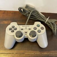 Sony PlayStation 1 OEM Grey Analog Wired Controller SCPH 1200 PS1 Tested Working