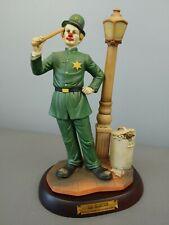 Circus World Museum Clown Alley Abe Goldstein Keystone Kop 1985 Flambro Limited