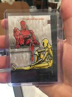 2018 Upper Deck Ant-Man & The Wasp Sketch Cards #SKT Shaquan Woody Interesting!