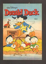 "1980 Walt Disney ""Donald Duck"" #31 Comic Book Dutch Varient - Fine - WH"