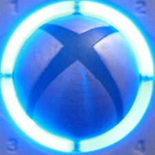 XBOX 360 Controller LED Mod- Ring Of Light ROL Bright Blue UK DELIVERY