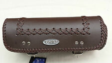 MOTORCYCLE TOOL ROLL BAG NEW, 100% LEATHER MOD.RA2634 BROWN