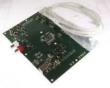 Maxim MAX9670EVKIT+ PCB used to evaluate the MAX9670 dual SCART aud/vid matrix
