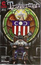 TRIGGERMAN set of (2) issues #1 & #2 (1996) Caliber Comics