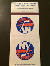 New York Islanders 1983-84 Vintage Matchbook Cover